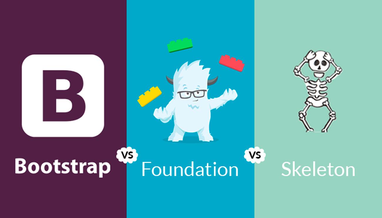 Los diferentes framework para la construcción de HTML Responsivo.