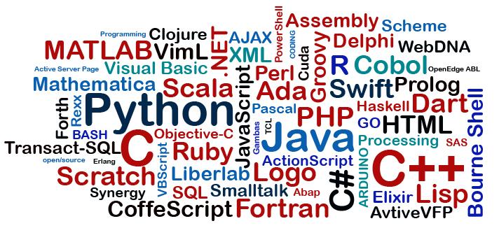Los lenguajes de programación más usados