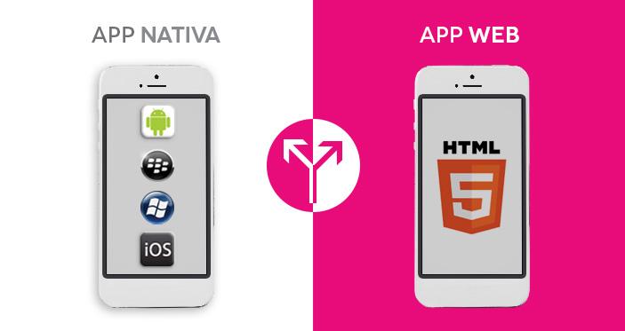 Los pro y contras de las aplicaciones web y aplicaciones nativas.